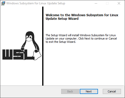 Windows Subsystem for Linux Update