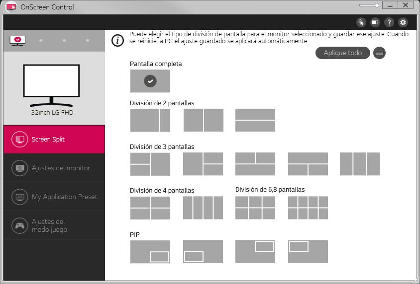 Descarga LG OnScreen Control (OSC) 2021