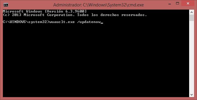 Comando CMD para Forzar descarga de Windows 10