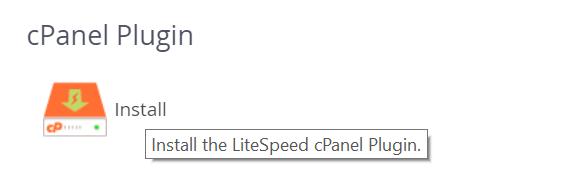 Instalar LiteSpeed Cpanel WHM - Plugin